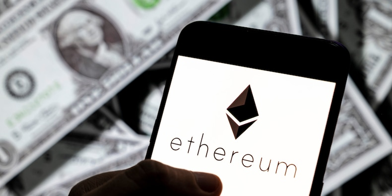 Ether soars to record high over $2,400 after Coinbase IPO and ahead of network upgrades