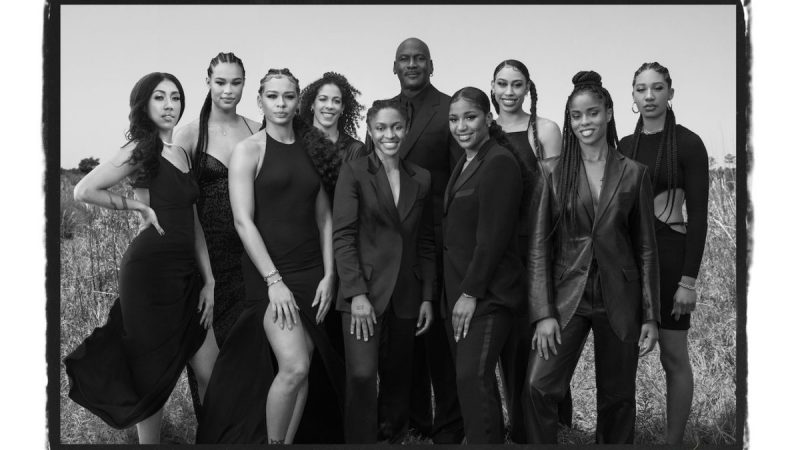 Strength, Fragility, and Beauty in the WNBA A new photo project from Nike's Jordan Brand captures what makes the players special.