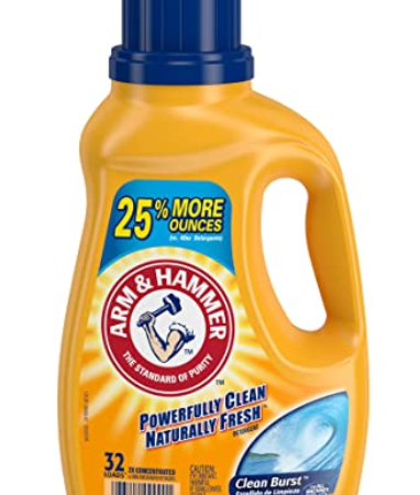Arm & Hammer Liquid Laundry Detergent, 32 Loads only $2.87!