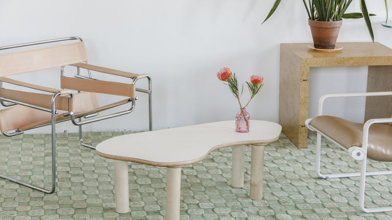 The All-Wood Collection's Trio of Tables Are Wiggly Fun