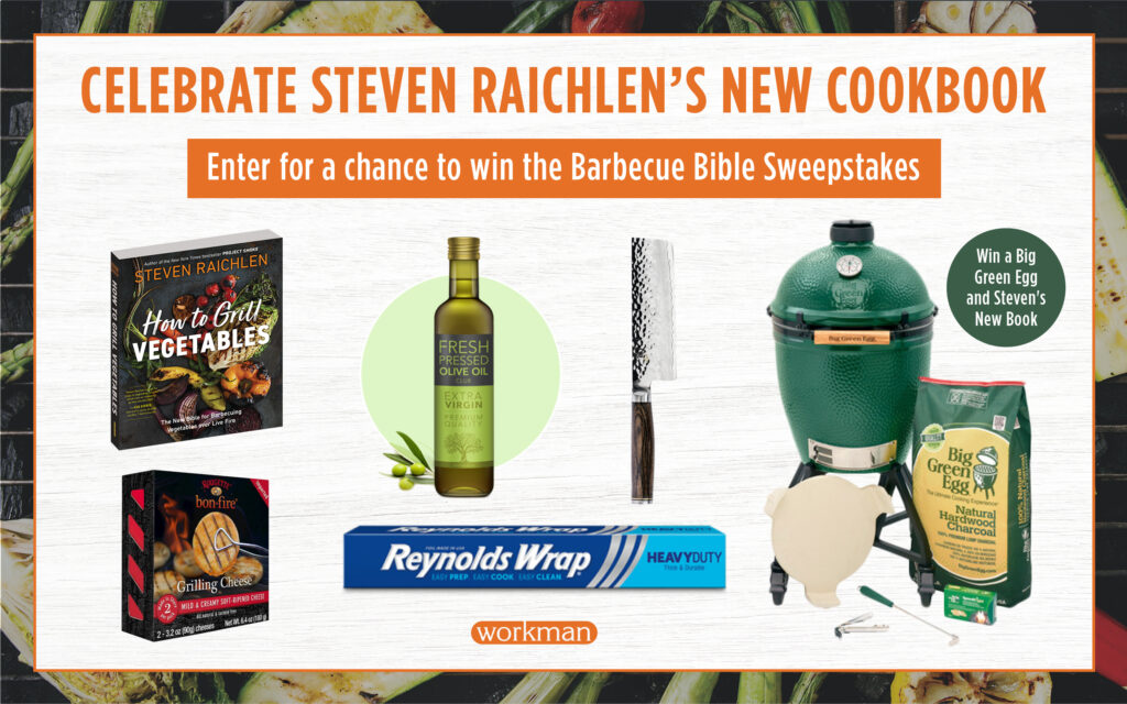 Celebrate the Release of Steven Raichlen's New Cookbook: Enter for a Chance to Win a New Grill and Essential Tools!