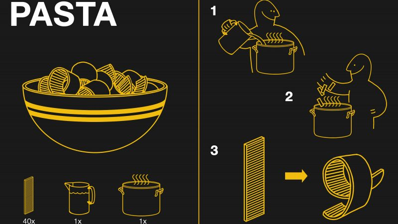 Flat-Pack Pasta: Like Ikea Furniture Without the Weird Wrench